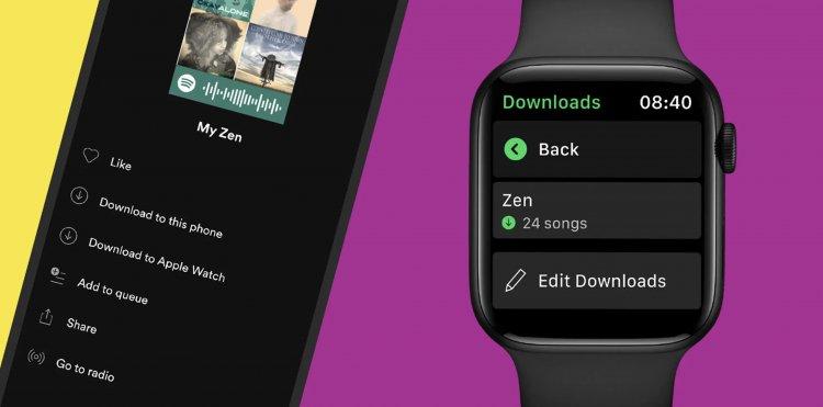 வாட்ச்ஓஸில் ஆஃப்லைன் ஆதரவுடன் Spotify வருகிறது!