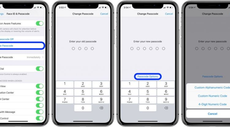 Change Ipad passcode