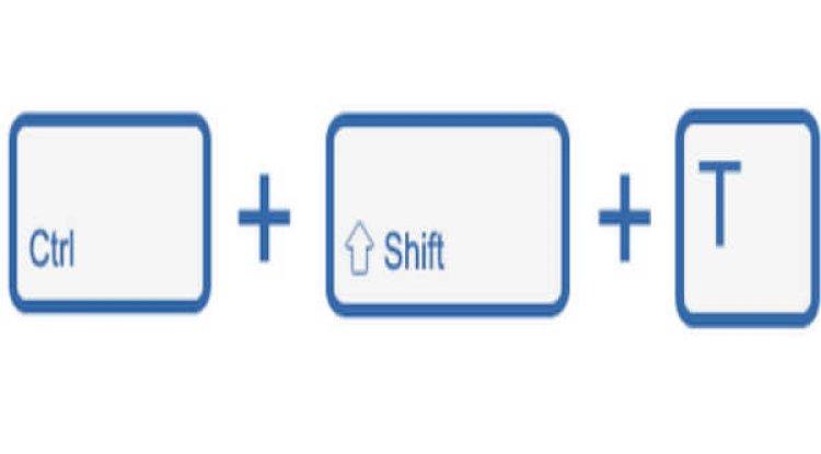 Ctrl+Shift+T