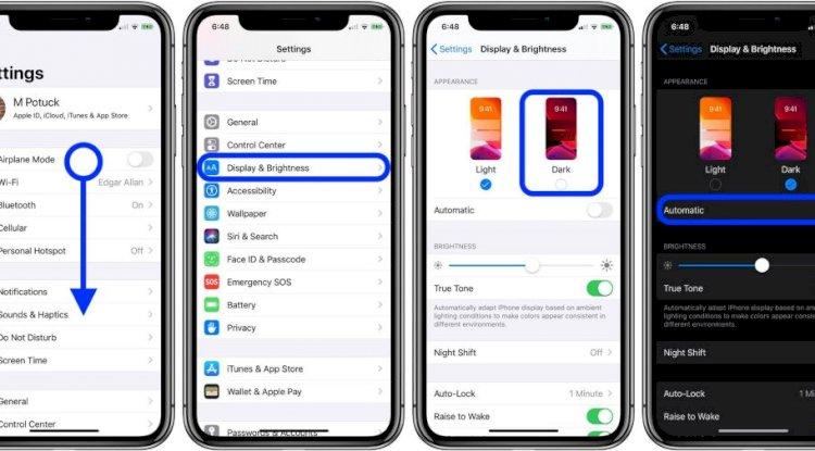 iOS 13 - Dark Mode