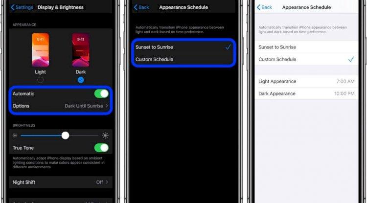 iOS 3 - Dark Mode