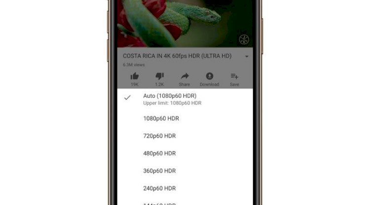 Iphone Youtube HDR