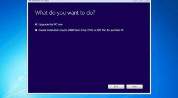 Windows 7 upgrade prompt