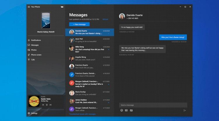 Microsoft Your Phone App