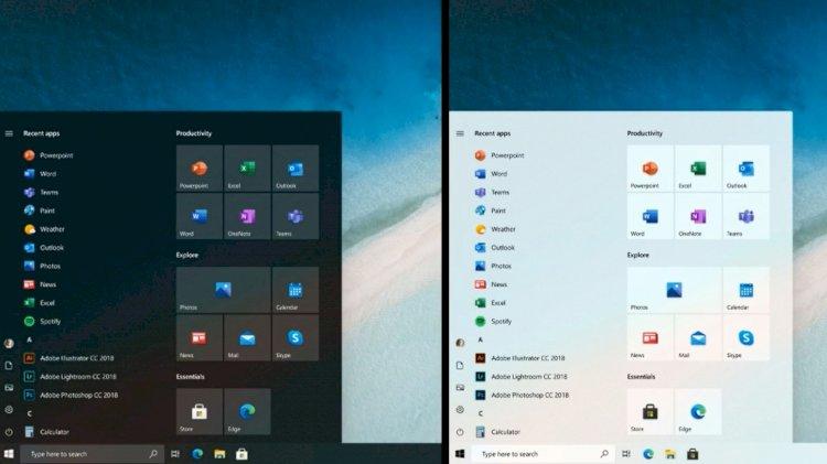 Windows 10 - புதிய தொடக்க மெனு இப்படித்தான் இருக்கும்!